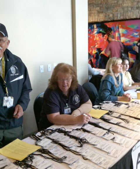GMR Event Registration Table